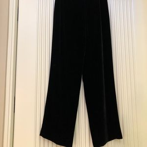 Ann Taylor velvet bell bottom pants 4P